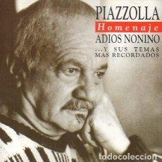 CDs de Música: ASTOR PIAZZOLLA Y SU QUINTETO – HOMENAJE ADIOS NONINO... - NUEVO Y PRECINTADO. Lote 202861527