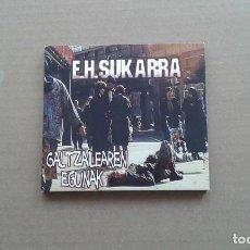 CDs de Música: E.H. SUKARRA - GALTZAILEAREN EGUNAK CD DIGIPACK 2002. Lote 202876703