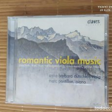 CDs de Música: CD ROMANTIC VIOLA MUSIC, JOACHIM, KIEL, ETC, A.B. DÜTSCHLEN, CLAVES. Lote 202900268