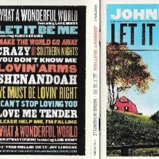 CDs de Música: JOHNNY MATHIS - LET IT BE ME: MATHIS IN NASHVILLE. Lote 202906772