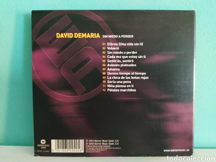 CDs de Música: David de María - Sin Miedo a Nada - Foto 2 - 202912055