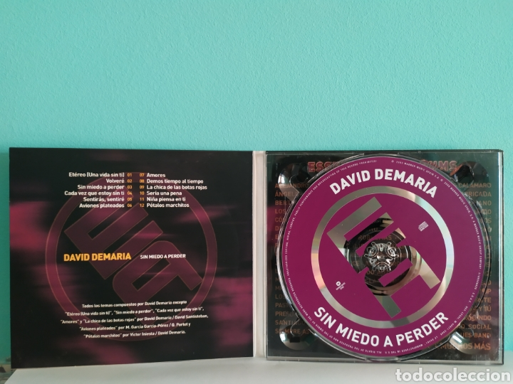 CDs de Música: David de María - Sin Miedo a Nada - Foto 3 - 202912055