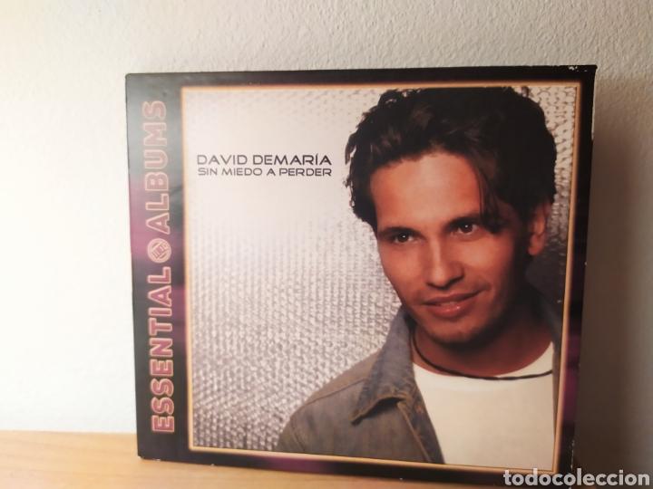 DAVID DE MARÍA - SIN MIEDO A NADA (Música - CD's Pop)
