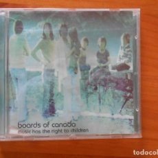 CDs de Musique: CD BOARDS OF CANADA - MUSIC HAS THE RIGHT TO CHILDREN - LEER DESCRIPCION (9G). Lote 202931751