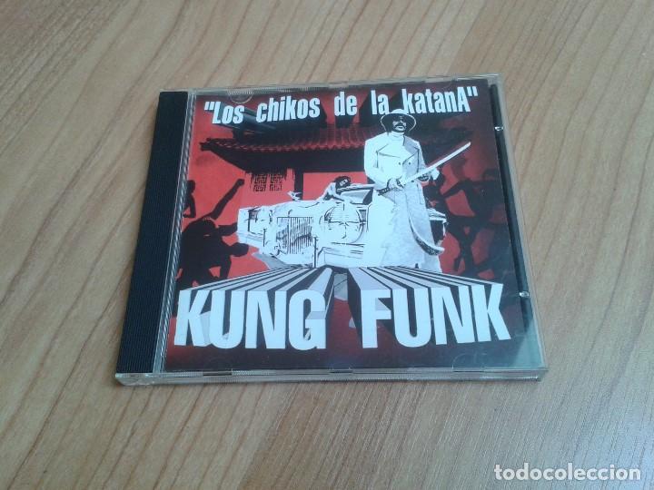 LOS CHIKOS DE LA KATANA -- KUNG FUNK -- CD -- DESCATALOGADO (Música - CD's Hip hop)