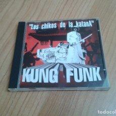 CDs de Música: LOS CHIKOS DE LA KATANA -- KUNG FUNK -- CD -- DESCATALOGADO. Lote 202961671