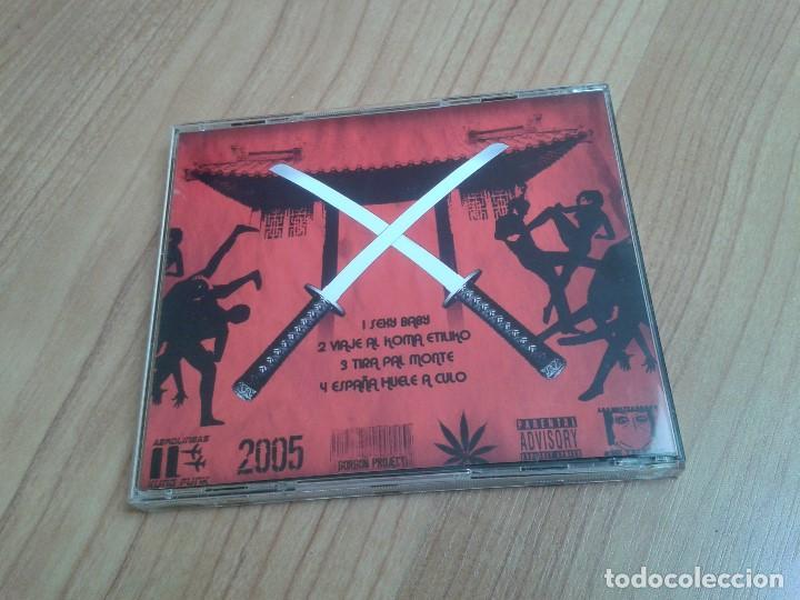 CDs de Música: Los Chikos de la Katana -- Kung Funk -- Cd -- Descatalogado - Foto 3 - 202961671