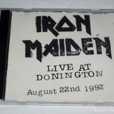 CDs de Música: CD IRON MAIDEN - LIVE AT DONINGTON AUGUST 22ND 1992. Lote 202964573