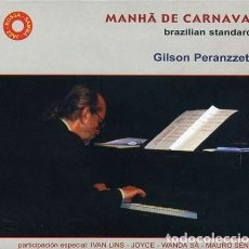CDs de Música: GILSON PERANZZETTA – MANHÃ DE CARNAVAL - NUEVO Y PRECINTADO. Lote 228467510