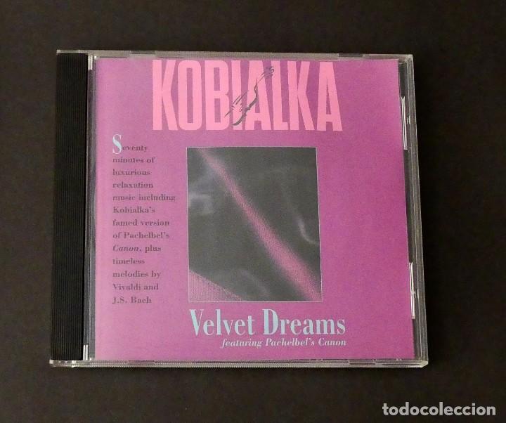 CD DANIEL KOBIALKA - VELVET DREAMS (Música - CD's New age)