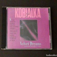 CDs de Música: CD DANIEL KOBIALKA - VELVET DREAMS. Lote 202969653