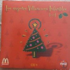 CDs de Música: LOTE COLECCION 4 CD´S MCDONALD`S AÑO 2001 COCA COLA VILLANCICOS NAVIDAD CHRISTMAS. Lote 202975357