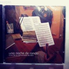 CDs de Música: UNA NOCHE DE RONDA :TUNA DE LA UNIVERSIDAD DE LEON.CD. Lote 203002953