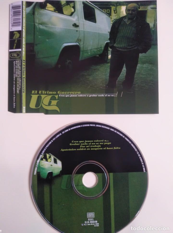 CD MAXI - UNHO EL ULTIMO GUERRERO (Música - CD's Hip hop)