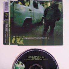 CDs de Música: CD MAXI - UNHO EL ULTIMO GUERRERO. Lote 203055295