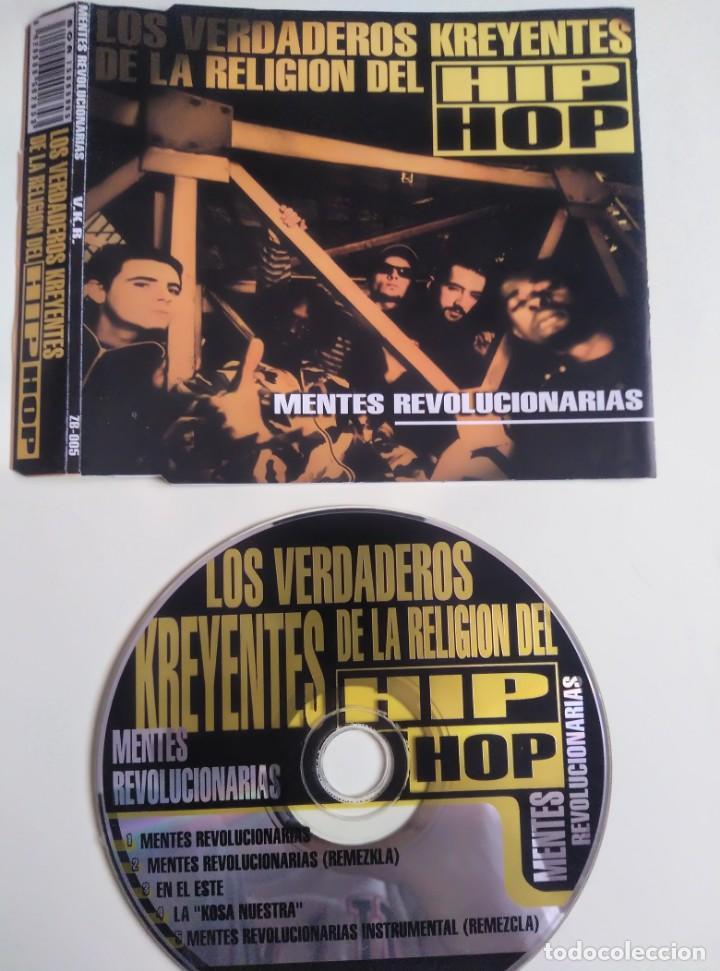 CD - VERDADEROS KREYENTES DE LA RELIGION... (Música - CD's Hip hop)