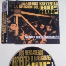 CDs de Música: CD - VERDADEROS KREYENTES DE LA RELIGION.... Lote 203055571