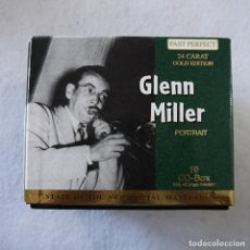 CDs de Música: GLENN MILLER - PAST PERFECT 24 CARAT GOLD EDITION - BOX CON 10 CDS. Lote 203067340