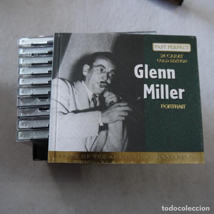 CDs de Música: GLENN MILLER - PAST PERFECT 24 CARAT GOLD EDITION - BOX CON 10 CDS - Foto 4 - 203067340