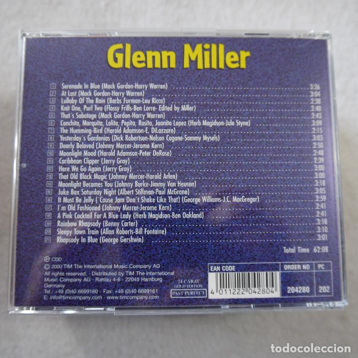CDs de Música: GLENN MILLER - PAST PERFECT 24 CARAT GOLD EDITION - BOX CON 10 CDS - Foto 13 - 203067340