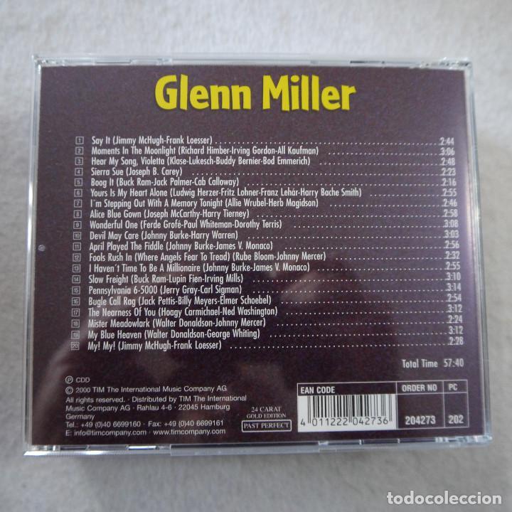 CDs de Música: GLENN MILLER - PAST PERFECT 24 CARAT GOLD EDITION - BOX CON 10 CDS - Foto 19 - 203067340
