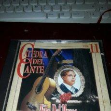 CDs de Música: CATEDRA DEL CANTE VOL. 11. NIÑO DEL MUSEO. 1905-1947. EDICION DE 1996. MUY RARO. Lote 203088181