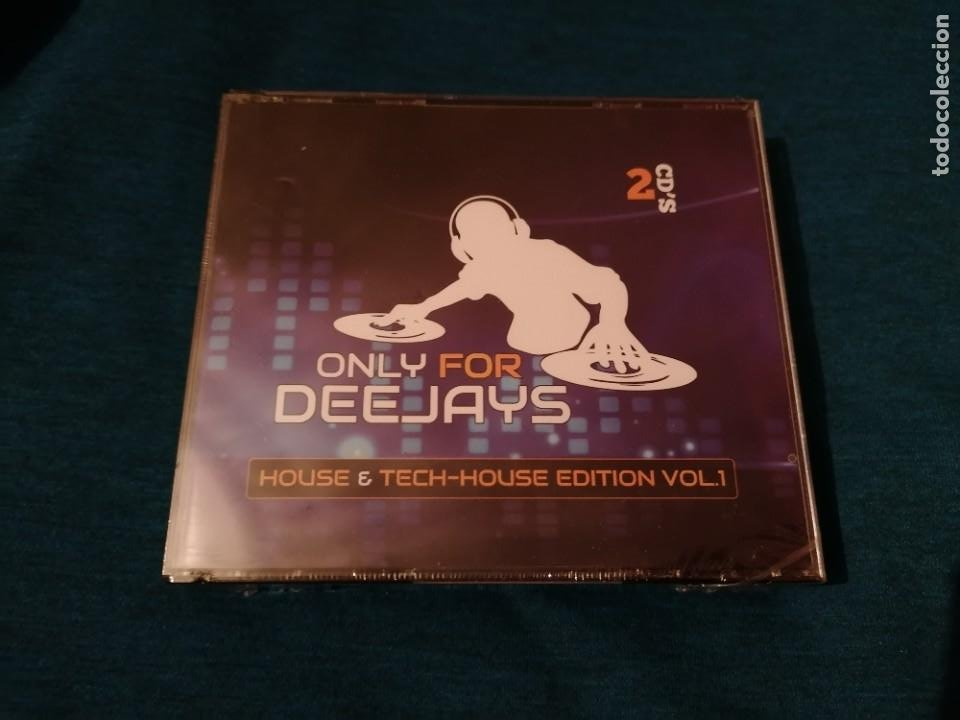 PEDIDO MÍNIMO 5€ ONLY FOR DEEJAYS HOUSE & TECH-HOUSE EDITION VOL.1 2CDS PRECINTADO (Música - CD's Disco y Dance)