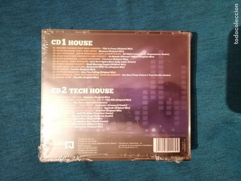 CDs de Música: PEDIDO MÍNIMO 5€ ONLY FOR DEEJAYS HOUSE & TECH-HOUSE EDITION VOL.1 2CDS PRECINTADO - Foto 2 - 203094303