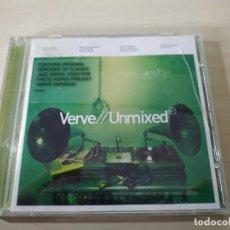 CDs de Música: VERVE / UNMIXED. CD. Lote 203102438