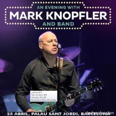 CDs de Música: MARK KNOPFLER - PALAU SANT JORDI, BARCELONA 25 APRIL 2019 (2 CD). Lote 245309870