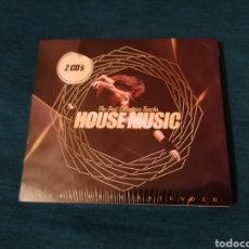 CDs de Música: LIQUIDACIÓN TOTAL RECOPILATORIO HOUSE MUSIC 2CD PRECINTADO. Lote 203209982