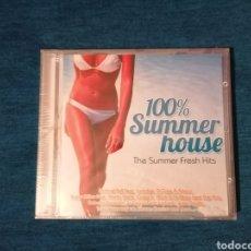 CDs de Música: PEDIDO MÍNIMO 5€ OFERTA NAVIDAD 100% SUMMER HOUSE CD RECOPILATORIO PRECINTADO. Lote 203210176