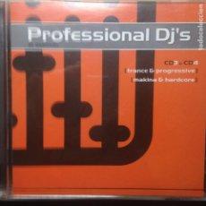 CDs de Música: PROFESSIONAL DJ´S IN SESSION CD 3 TRANCE & PROGRESSIVE. Lote 203230142