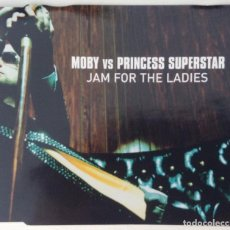 CDs de Música: MOBY VS PRINCESS CD JAM FOR THE LADIES. Lote 203298845