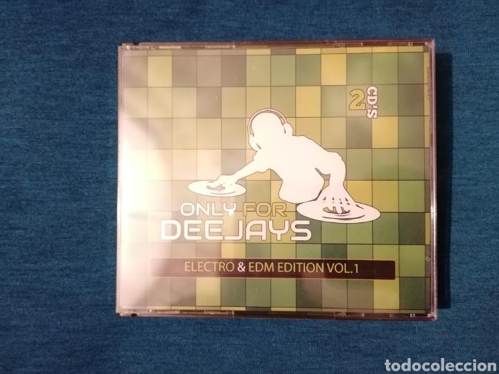 PEDIDO MÍNIMO 5€ ONLY FOR DEEJAYS ELECTRO & EDM EDITION VOL.1 2CD PRECINTADO (Música - CD's Disco y Dance)