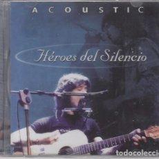 CDs de Música: HEROES DEL SILENCIO - ACOUSTIC - CD ACUSTICO EN DIRECTO - NUEVO PRECINTADO #. Lote 203319060