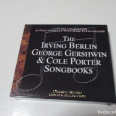 CDs de Música: 2CD DELUXE EDITION THE IRVING BERLIN GEORGE GERSHWIN. COLE PORTER SONGBOOKS. Lote 203351642