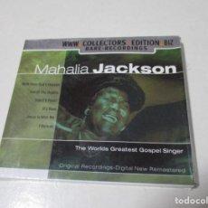 CDs de Música: 1 CD MAHALIA JACKSON. 16 CANCIONES. THE WORLDS GREATEST GOSPEL SINGER.. Lote 203352362