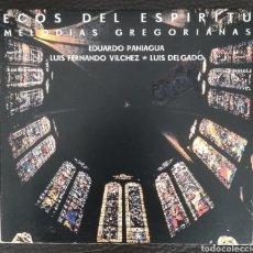 CDs de Música: ECOS DEL ESPÍRITU MELODÍAS GREGORIANAS. Lote 203377901