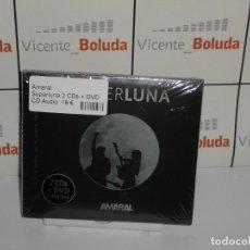 CDs de Musique: AMARAL SUPERLUNA DESDE EL PLANET 2 CDS + DVD NUEVO Y PRECINTADO ENVIÓ CERTIFICADO A ESPAÑA 2 EUROS. Lote 268770039