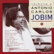 CDs de Música: TRIBUTO A A. CARLOS JOBIM - VOLUMEN 1 - NUEVO Y PRECINTADO. Lote 203569300