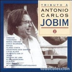 CDs de Música: TRIBUTO A A. CARLOS JOBIM - VOLUMEN 2 - NUEVO Y PRECINTADO. Lote 203569973
