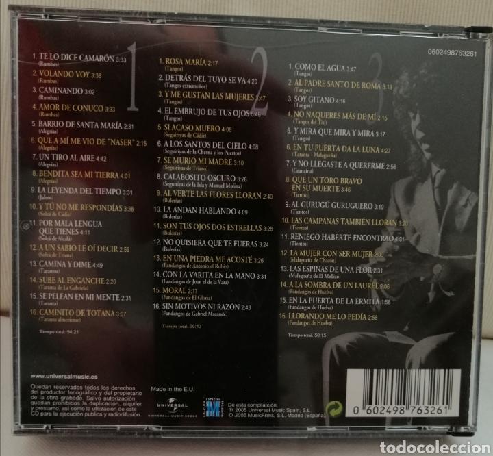 CDs de Música: Camarón de la Isla Triple CD. - Foto 2 - 203602255