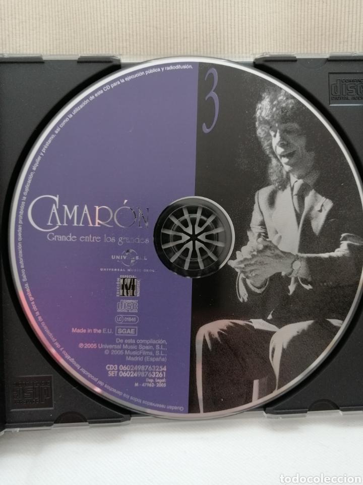 CDs de Música: Camarón de la Isla Triple CD. - Foto 4 - 203602255