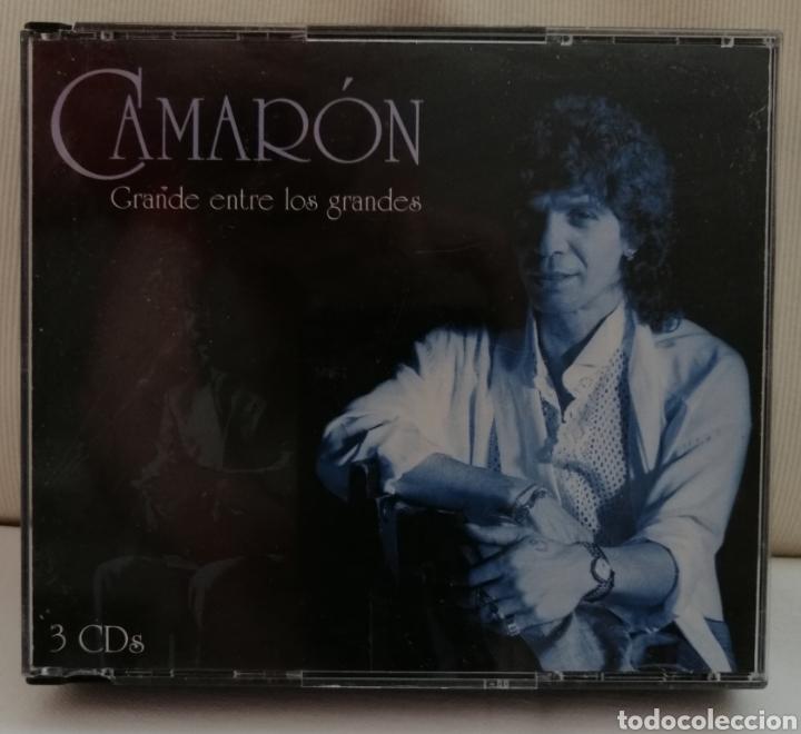 CAMARÓN DE LA ISLA TRIPLE CD. (Música - CD's Flamenco, Canción española y Cuplé)