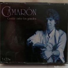 CDs de Música: CAMARÓN DE LA ISLA TRIPLE CD.. Lote 203602255