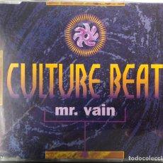 CDs de Música: CULTURE BEAT , CD SINGLE - MR VAIN - - DANCE. Lote 203635412