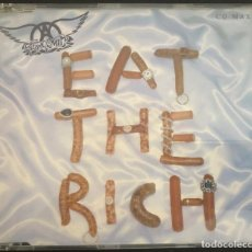 CDs de Música: AEROSMITH CD SINGLE EAT THE RICH. Lote 203636788
