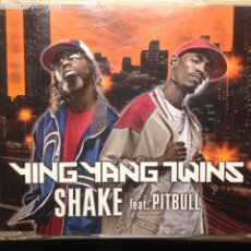 CDs de Música: YING YANG TWINS FEAT PITBULL - SHAKE - STREET - ALL ENGLISH - ELEPHANT MAN REMIX - INSTRUMENTAL -. Lote 203729733