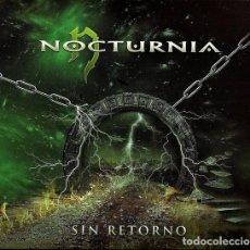 CDs de Música: NOCTURNIA - SIN RETORNO. Lote 263121975